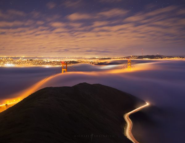 Into the Night - Stunning Nature Photography by Michael Shainblum  <3 <3