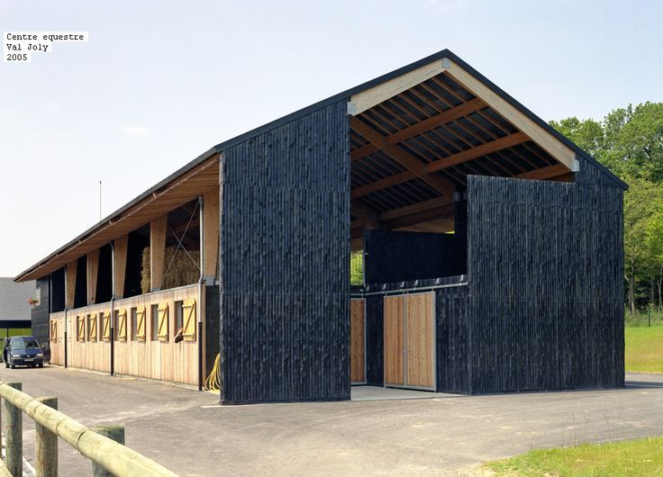 Equestrian Centre At Val Joly France By Saison Menu Architects