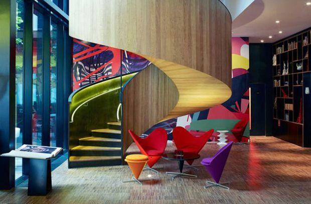 """En la categoría de """"Hotel y esparcimiento"""", el ganador es el hotel citizenM en Londres de la firma de Amsterdam, Concrete."""