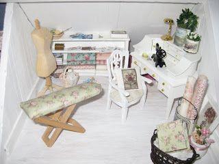 miniatyrmama: Första dockhuset