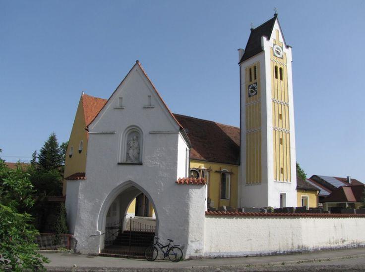 Rieden (bei Kaufbeuren), Pfarrkirche St. Martin von Tours (Ostallgäu) BY DE