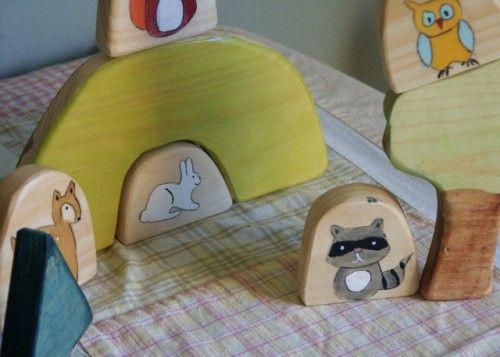zelf houten speelsetje maken