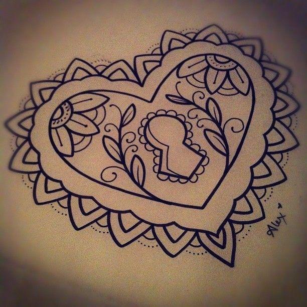 <3 Alex Strangler. The center of a chest tattoo