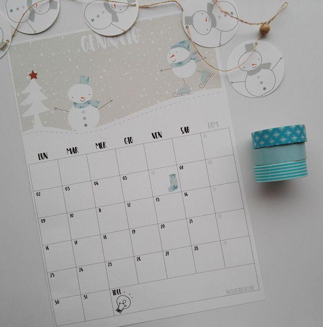 Il nuovo anno lo voglio iniziare alla grande. Ho desiderato e progettato un calendario tutto nuovo, l ho immaginato mensile con tante nuove illustrazioni, nuovi font, nuovi colori, nuovo layout e …
