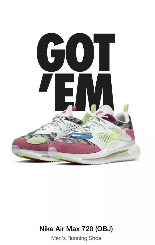 Nike Air Max 720 OBJ Odell Beckham Jr Young King of The Drip