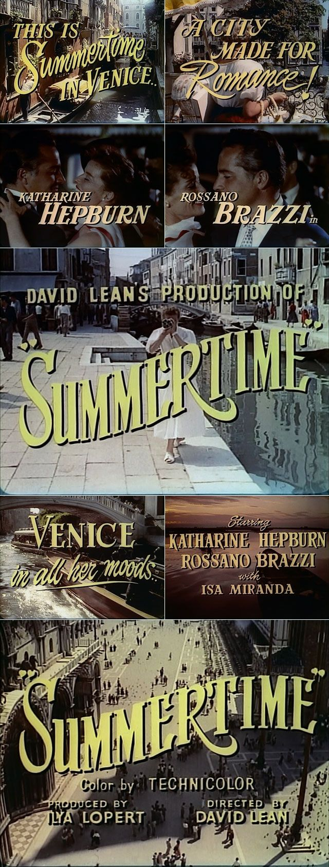 Movie title typography is a lost art in my opinion. Hollywood today just doesn't put that same pizazz (yeah I'm gonna use that word) in to their opening or ending title sequences anymore. Christian Annyas designs websites in between in his morning coffee and his evening movie and boy, has he watche