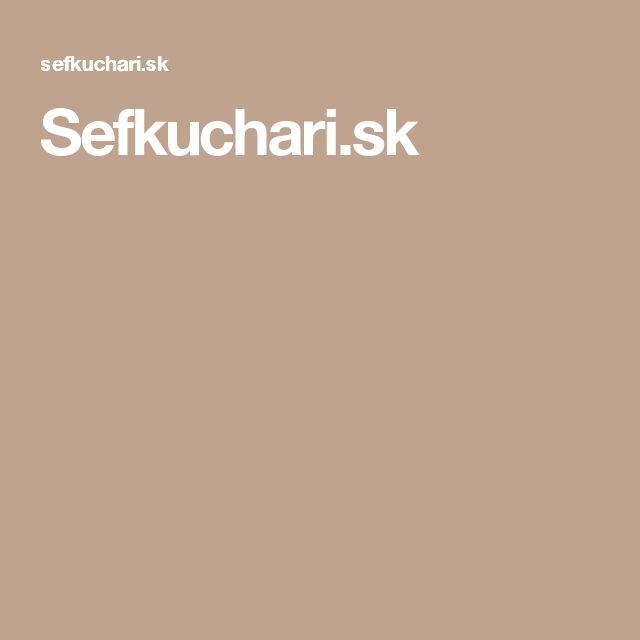 Sefkuchari.sk