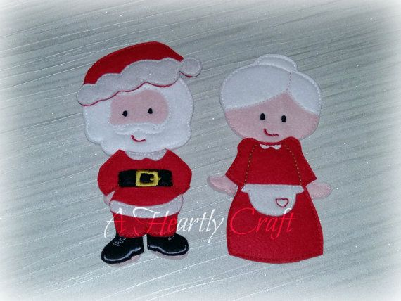Christmas Set Of Non Paper Dolls This Will Be Made Up The Following Items Santa Boy Doll With Clothing Mrs Claus Girl