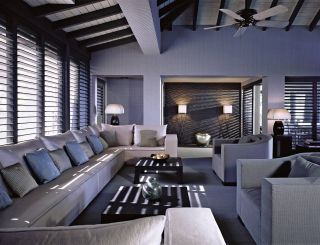 Modern Living Room By Giorgio Armani In Antigua. Http://on.fb