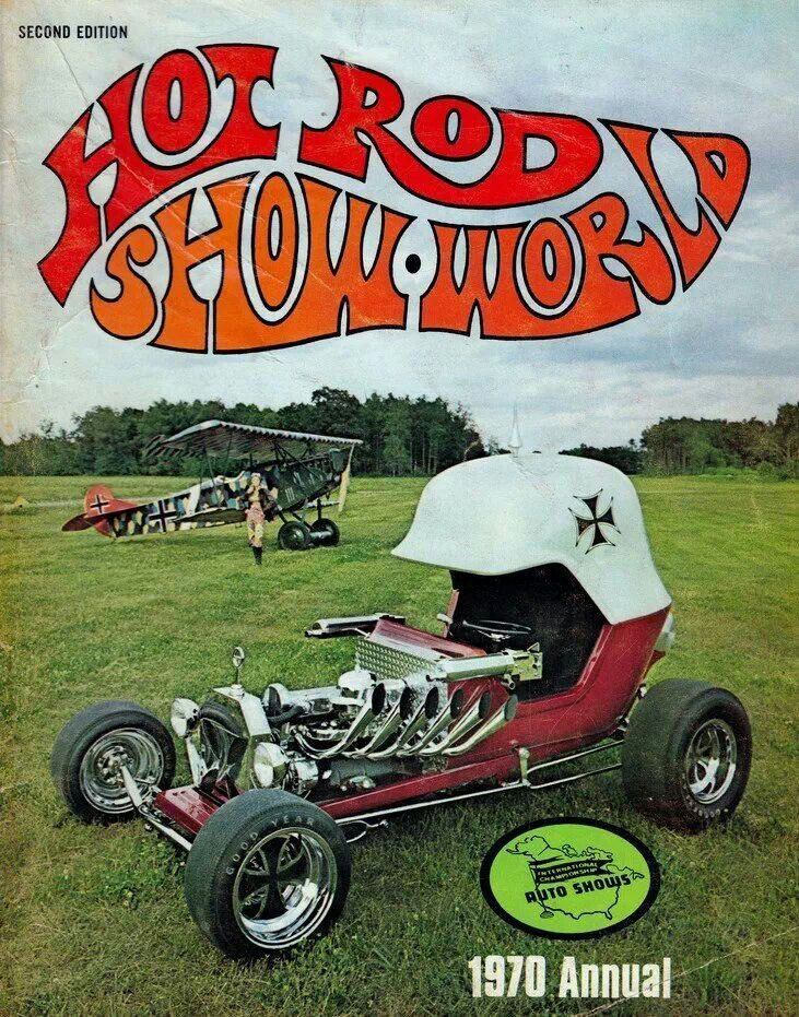 The Red Baron - 1969 - designed by Tom Daniel for Monogram Models. Chuck Miller made a full scale show car based on the model.