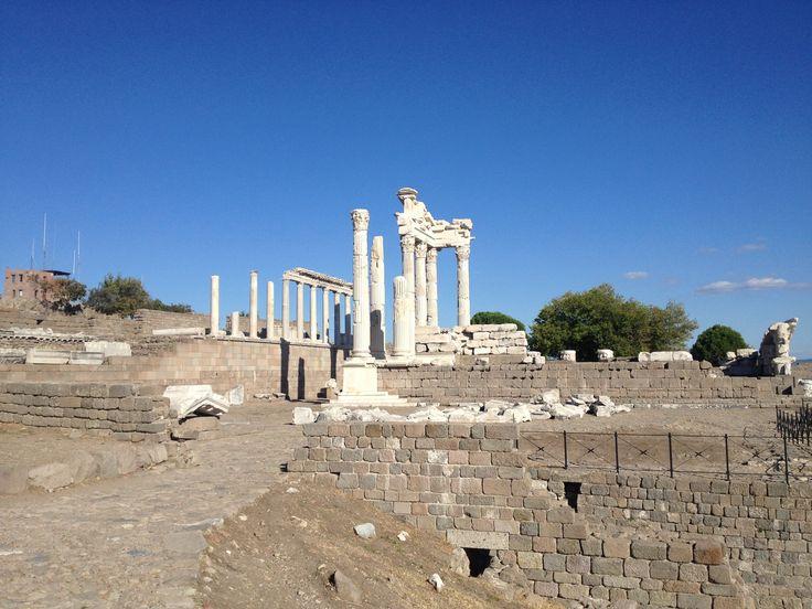 Acropolis, Pergamum, Turkey