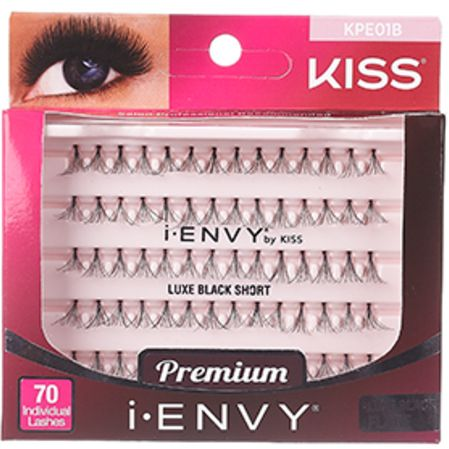 Kiss i-ENVY Premium Individual Eyelashes 70 Lashes - Luxe Black Flare Short #KPE01B $3.59 Visit www.BarberSalon.com One stop shopping for Professional Barber Supplies, Salon Supplies, Hair & Wigs, Professional Product. GUARANTEE LOW PRICES!!! #barbersupply #barbersupplies #salonsupply #salonsupplies #beautysupply #beautysupplies #barber #salon #hair #wig #deals #Kiss #iENVY #Premium #Individual #Eyelashes #70Lashes #Luxe #Black #Flare #Short #KPE01B