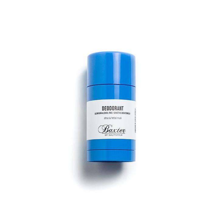 Déodorant sans aluminium ni alcool Baxter of California