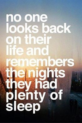 Think about it!  Live life to the fullest and never regret the experiences that made you who you are. ~ Michael Baisden