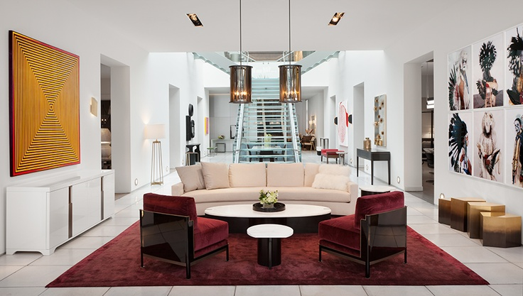 121 best images about holly hunt showrooms on pinterest for Showroom living room ideas