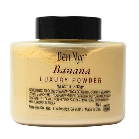 Ben Nye Bella Luxury Powder - Banana (1.5 oz/42 gm)