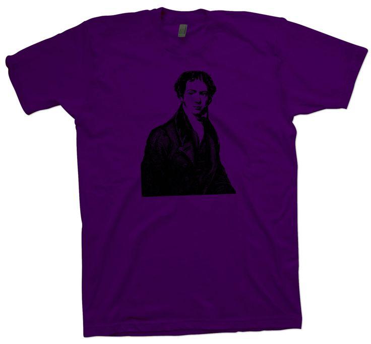 Science T-Shirt Michael Faraday , Physics Electromagnetics Scientist Nerd Tee - T-Shirts