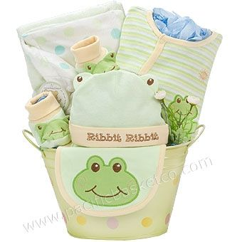 9 best gift boxes images on pinterest gift boxes wine gift sets ribbit baby gift basket vancouver negle Choice Image