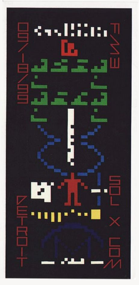 Detroit rave flyer - circa 90's