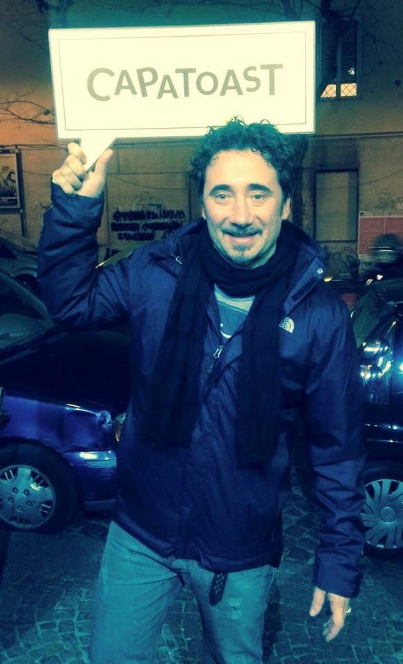 Quando la musica segue la sua strada... fa sosta da #Capatoast ! È venuto a trovarci Federico Zampaglione dei #Tiromancino