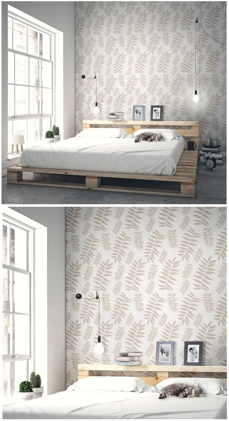 20 best security door images on pinterest security screen doors bohemian wall decor using botanics wall stencil as found on stencilit wallstencil amipublicfo Image collections