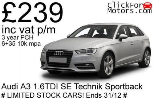 Audi-A3-1-6TDI-SE-Technik-Sportback-Manual-239-inc-vat-p-m-Personal-lease