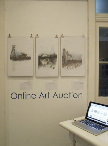 Our first Online Art Auction.
