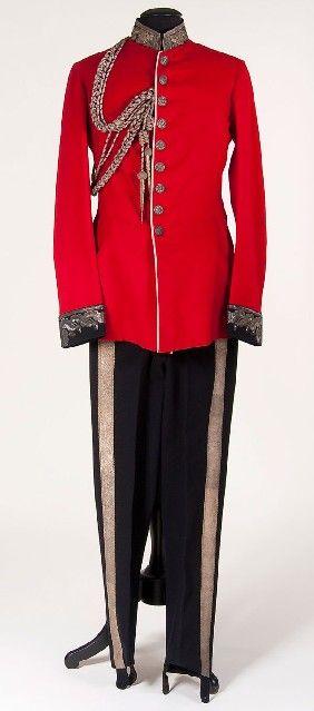 late 19th century British military uniform