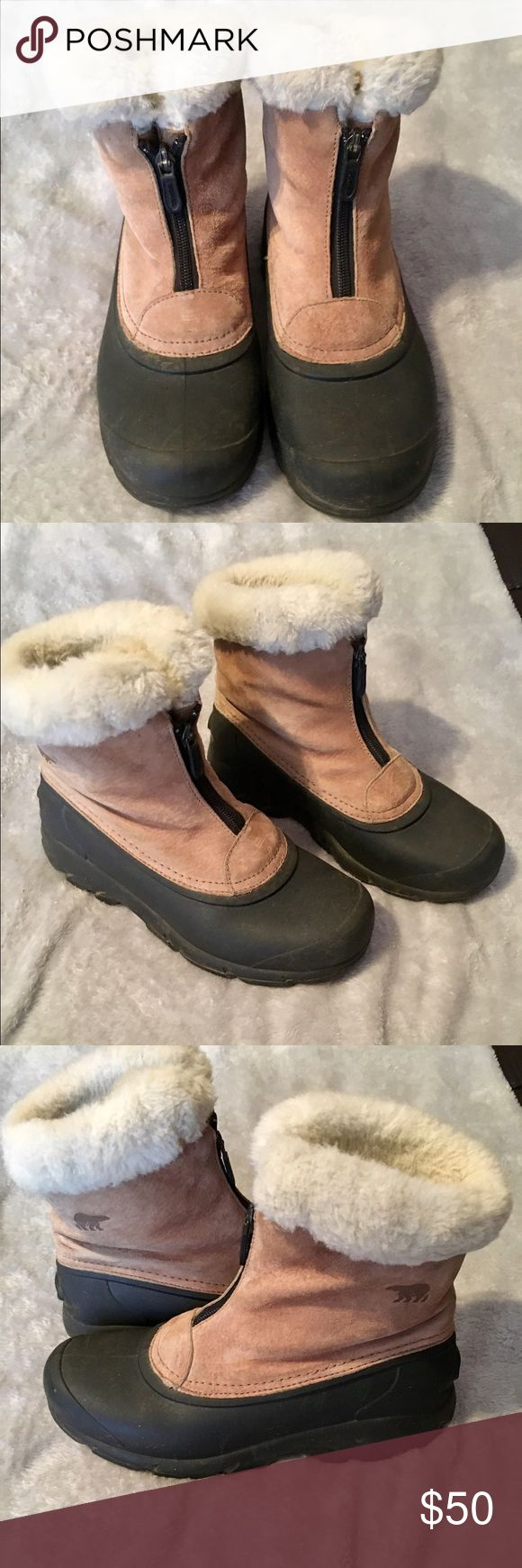 Sorel Thinsulate Boots Size 7 Sorel Thinsulate Boots Size 7; wore just a few times; great condition Sorel Shoes Winter & Rain Boots