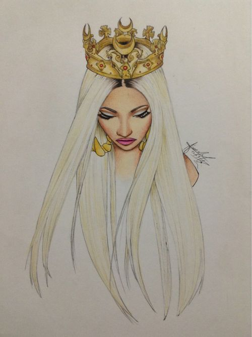 Nicki Minaj art