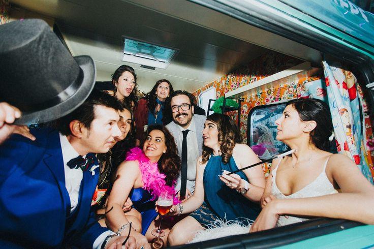 Amigos boda