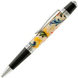 Hobble Creek Craftsman Florentine Print Paper Sienna Pen Blank | Pen Making | Craft Supplies USA