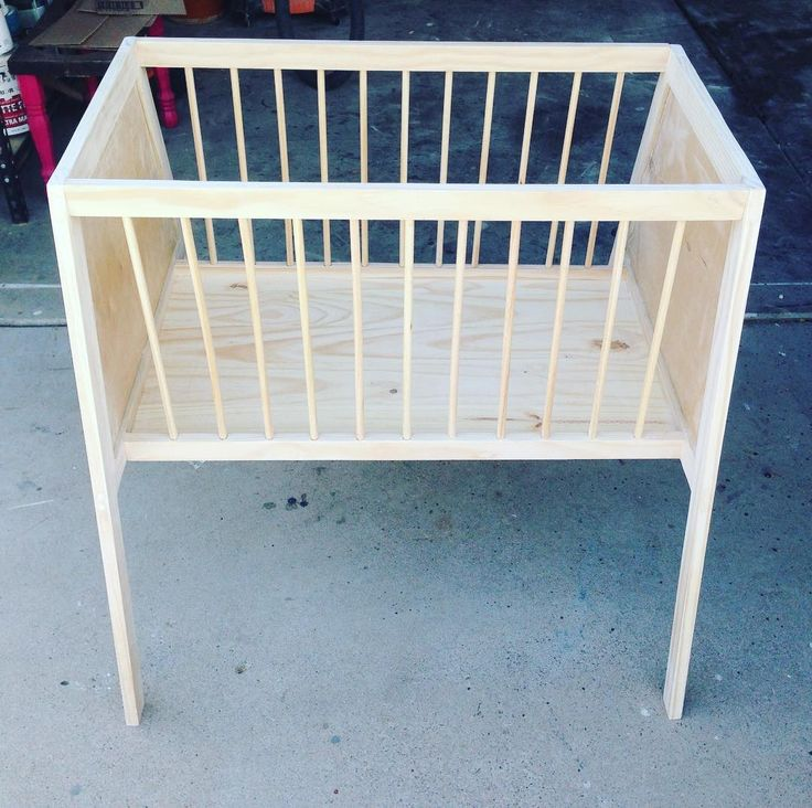 Probably won't be selling these but a fun project for the baby on the way #cradle #bassinet #woodwork #nidify #nidification de nidify_llc