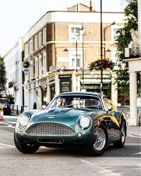 Starting Friday In Style In An Aston Martin DB4 Zagato