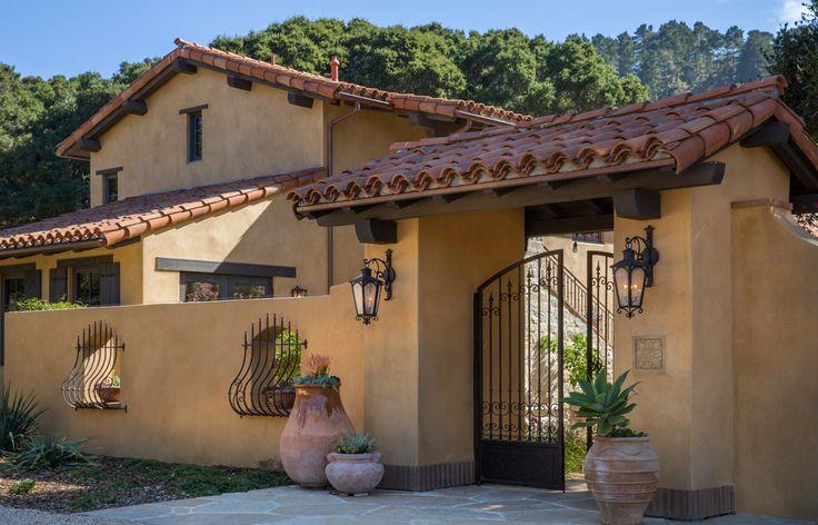 Tom meaney architect san carlos casas de campo y - Colores de fachadas de casas de campo ...