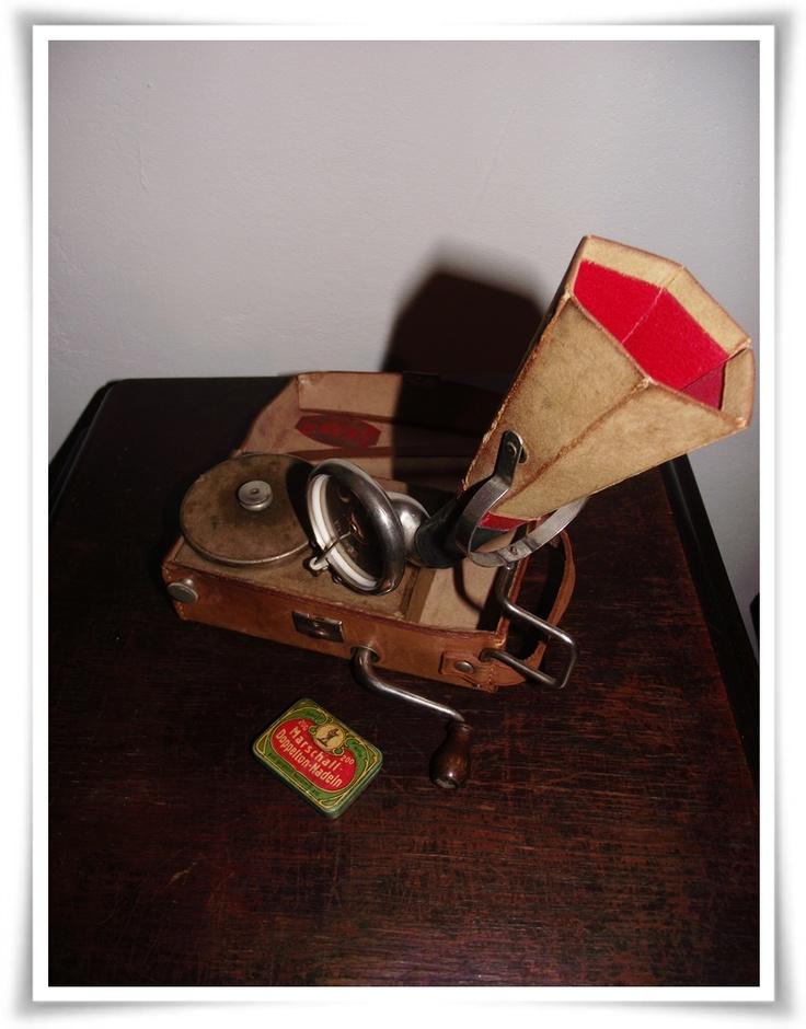 Gipsy Kleingrammophon   1920er Jahre