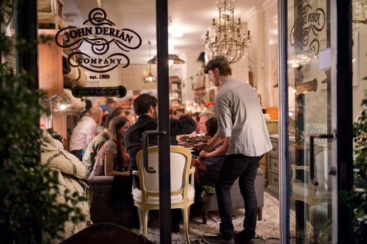 Fete Accompli | Summer in the City - NYTimes.com - dinner party at John Derian