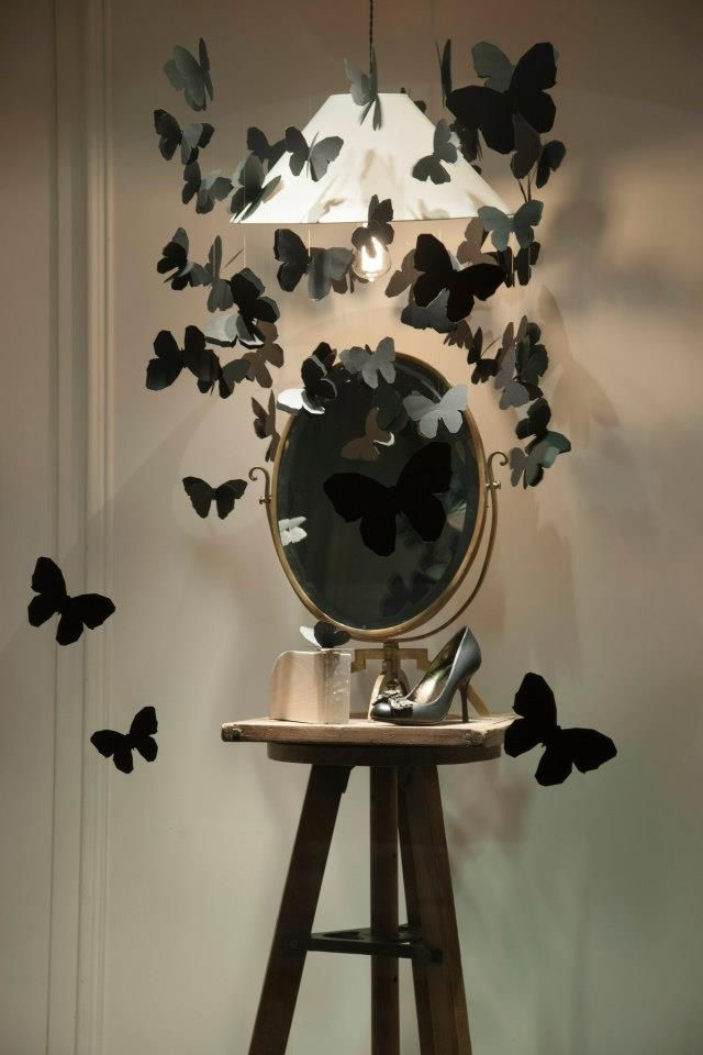 Lanvin butterfly windows