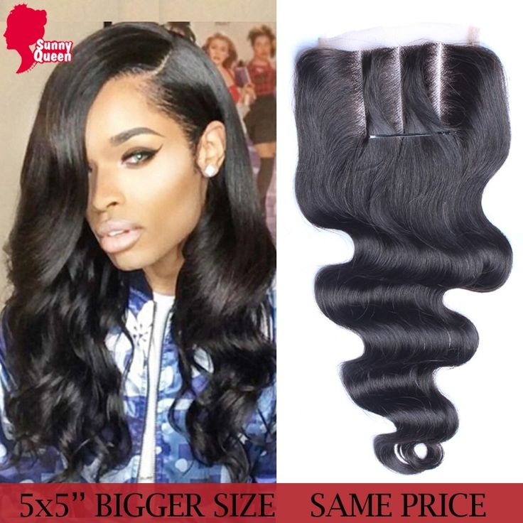 5x5 Lace Closure Malaysian Body Wave Human Hair Lace Closure Bleached Knots 8A Malaysian Virgin Hair Rosa Queen Hair Products *** You can find more details by visiting the image link.