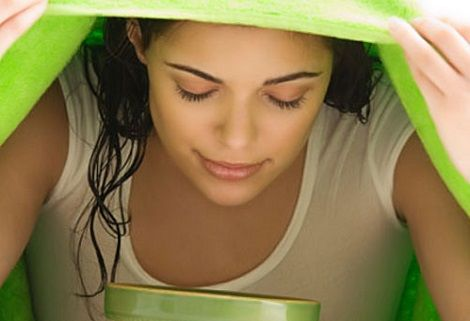 Bagni di vapore per eliminare punti neri e acne | Beauty & Relax