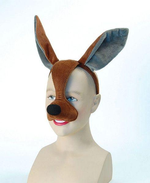 Kangaroo Mask With Sound (Eye Masks) - Unisex - One Size