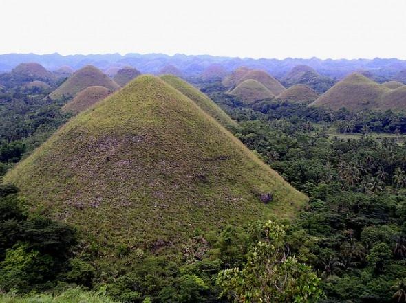 De Chocolade Heuvels, Filipijnen