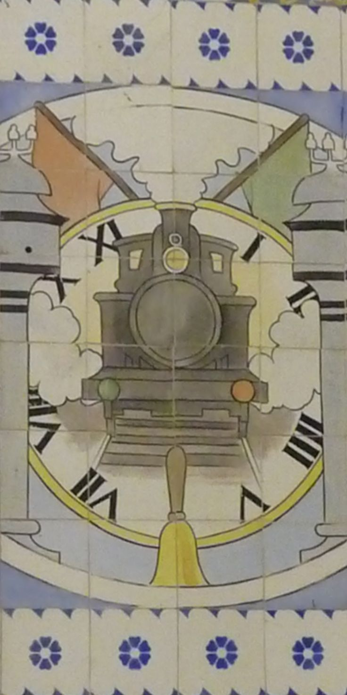 Jorge Colaço | Porto | Estação Ferroviária de / Railway Station of São Bento | 1915 [© Ana Almeida] #Azulejo #Porto #JorgeColaço