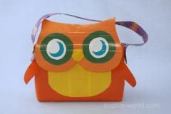 How to Make a Duct Tape Owl Bag