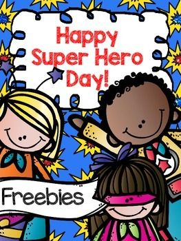 Enjoy these super hero themed activities!  Great for any day of the year!