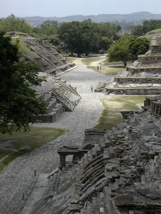 Tajin , Veracruz, México.  Possibly built by Haustec people, though who built it is not clear.