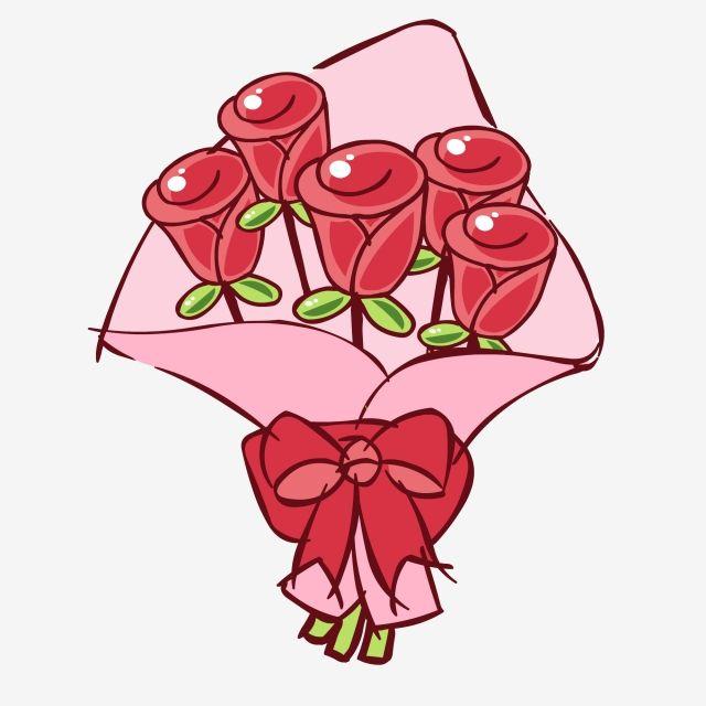 زهرة مرسومة باليد لطيف الكرتون باقة المواد الورقية روز زهرة مرسومة باليد وردة لطيف Png والمتجهات للتحميل مجانا Flower Drawing Cartoon Rose Hand Drawn Flowers