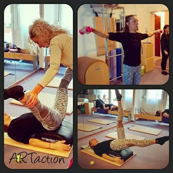 ARTactionPilates studios Greece, Athens, Thessaloniki.