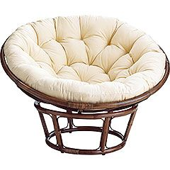 Papasan chair- my parents had one of these when i was little and it was the greates. I wish i had room for one!