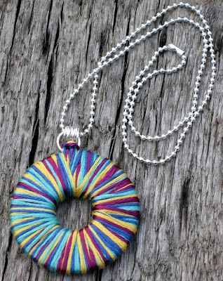 Several cool ideas for upcycling washers into jewelry!